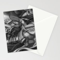 abstract techXpressionism No. 2 Stationery Cards