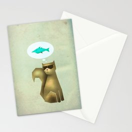 Fish and Chips Stationery Cards