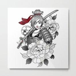 The Beautiful Pirate Metal Print