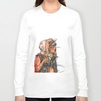 tank girl Long Sleeve T-shirts featuring Tank Girl by Joe carver