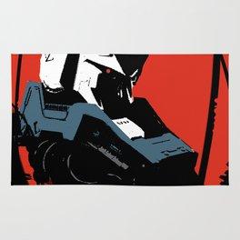 Gundam Rx-93 headbust Rug