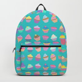 Cupcake sweet dream colourful factory pattern Backpack