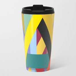 Abstract #225 Corners, Intersections & Dead Ends Travel Mug