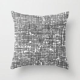 Crosshatch Throw Pillow