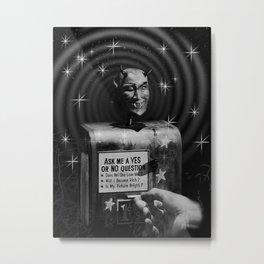 Devil's Question Box Metal Print