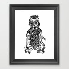Freak Framed Art Print