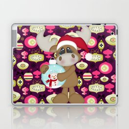 Christmas Ornaments Moose Laptop & iPad Skin