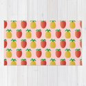 Strawberries and Pineapples - A Tropical Pink Surprise! by shellystill