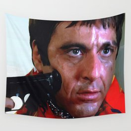 Al Pacino @ Scarface #1 Wall Tapestry