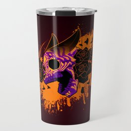 Skull 'n' Roses (NightmareNetty-Colored) Travel Mug