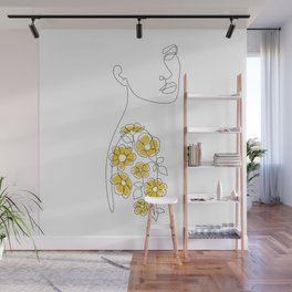 Mustard Sleeve Wall Mural