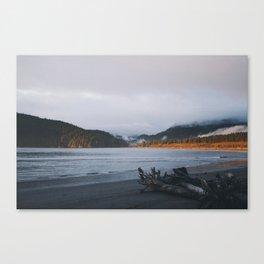 Sunset + Clouds Canvas Print