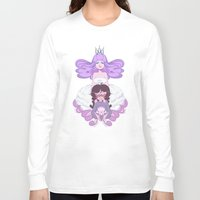 princess Long Sleeve T-shirts featuring Princess  by elixiroverdose