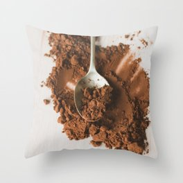 All of the chocolate Throw Pillow