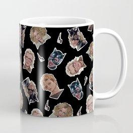 Selina Kyle Catwoman Pattern Coffee Mug