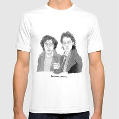 Withnail and I Mens Fitted Tee White MEDIUM