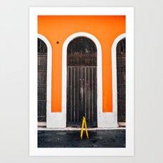 Puerta Puerto Rico #2 Art Print