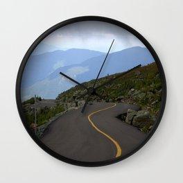 Exhileration Lies ahead Wall Clock