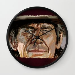 Harmonica Man Wall Clock