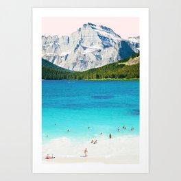 Summer Vibes #society6 #decor #buyart Art Print