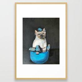 BleuBell Framed Art Print