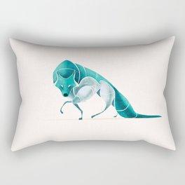 Wolf 2 Rectangular Pillow
