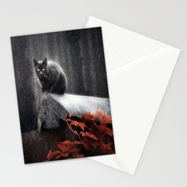 BLACK CAT II Stationery Cards
