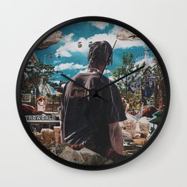 astroworld travis scotts Wall Clock
