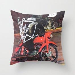Mantra Throw Pillow