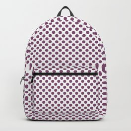 Amethyst Polka Dots Backpack