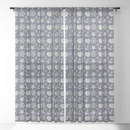 My Jolly Sailor Bold Sheer Curtain