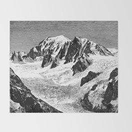 Existing Alpine Glacier Throw Blanket