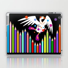 Lucie loves to dance! Laptop & iPad Skin