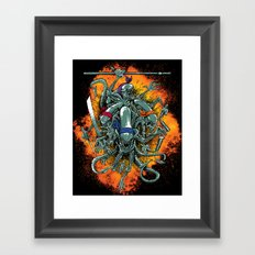 Bay's Alien turtles! Framed Art Print