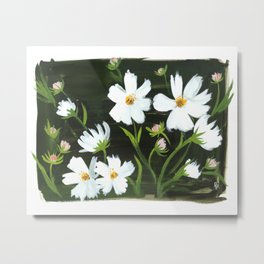 Versailles Flowers Metal Print
