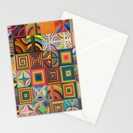 Frank Stella Montage Stationery Cards