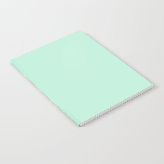 Mint Green Notebook