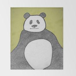 Panda Mountain Throw Blanket