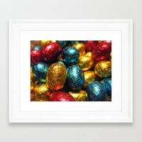 easter Framed Art Prints featuring Easter by habish