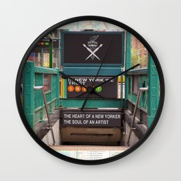 """""""Commuter"""" Wall Clock"""