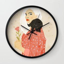 Pussy Cat Wall Clock