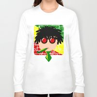 reggae Long Sleeve T-shirts featuring Reggae Kazoo by mailboxdisco