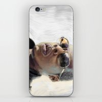 jay z iPhone & iPod Skins featuring Jay-Z by Thomas Bryant