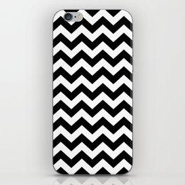 Black Safari Chevron iPhone Skin