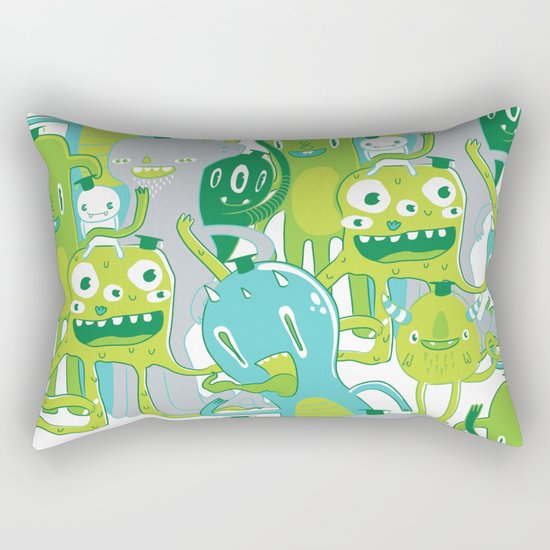 Done with Monster School! Rectangular Pillow