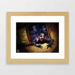 Z Attack! Framed Art Print