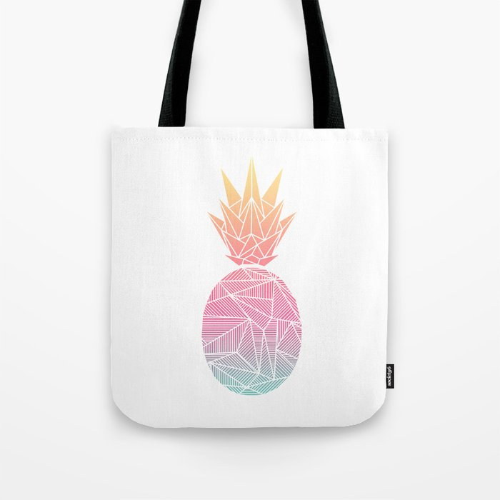 Beeniks Rays Pineapple Tote Bag