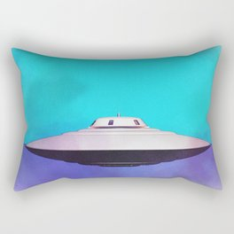 Unidentified Flying Object - UFO Rectangular Pillow