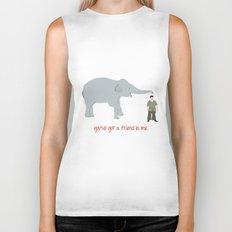 Elephant Friends Biker Tank