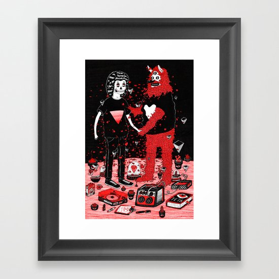 pacto Framed Art Print